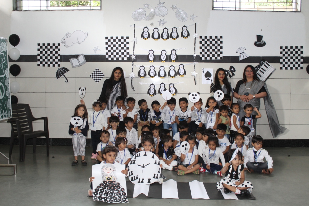 Black & White Day Pri-Primary English Medium