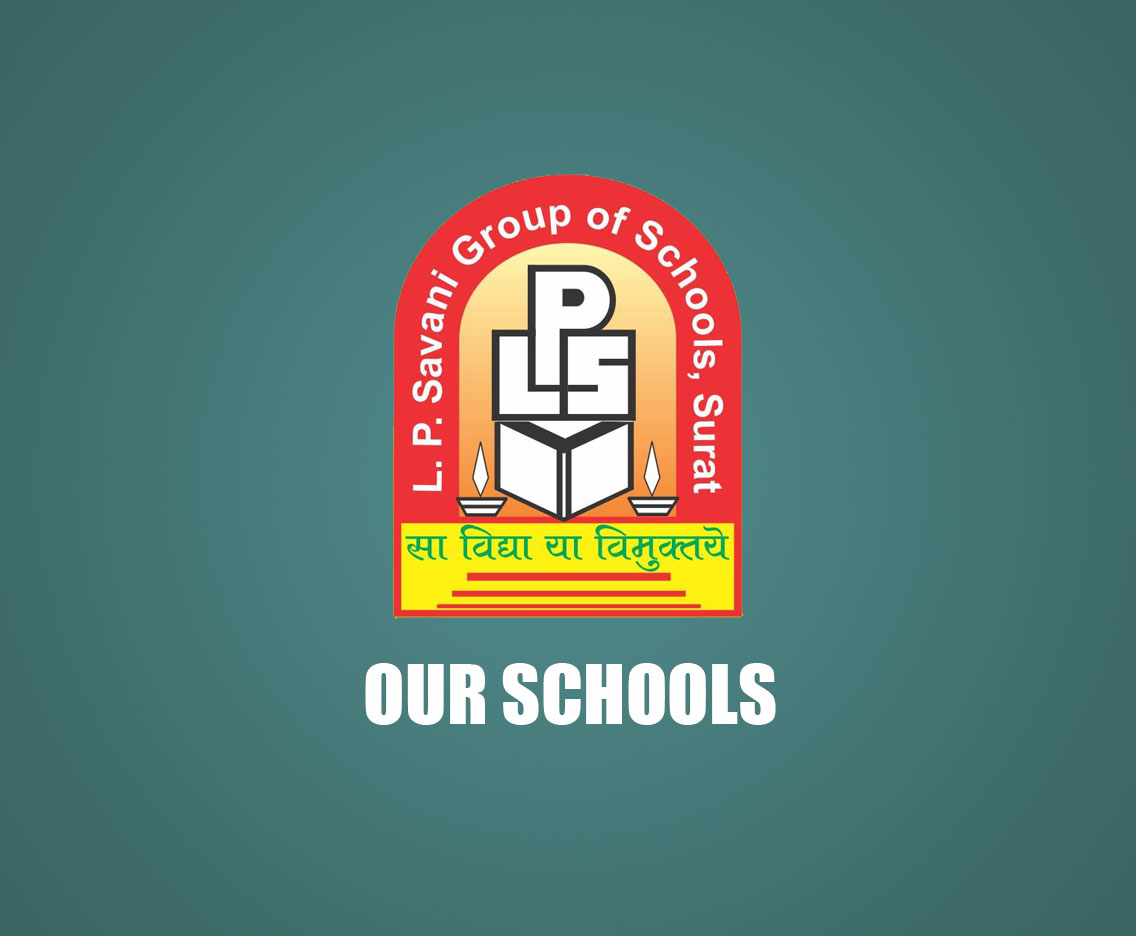 List of schools - l p savani group of schools