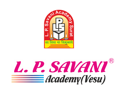 l p savani academy school in vesu