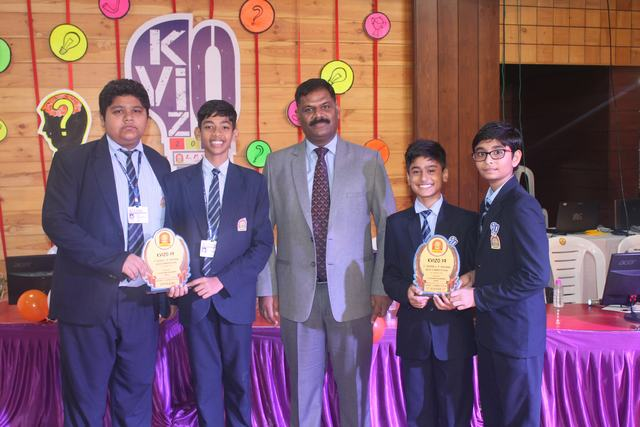 1st Inter L P Savani Quiz Competition KVIZO-2019