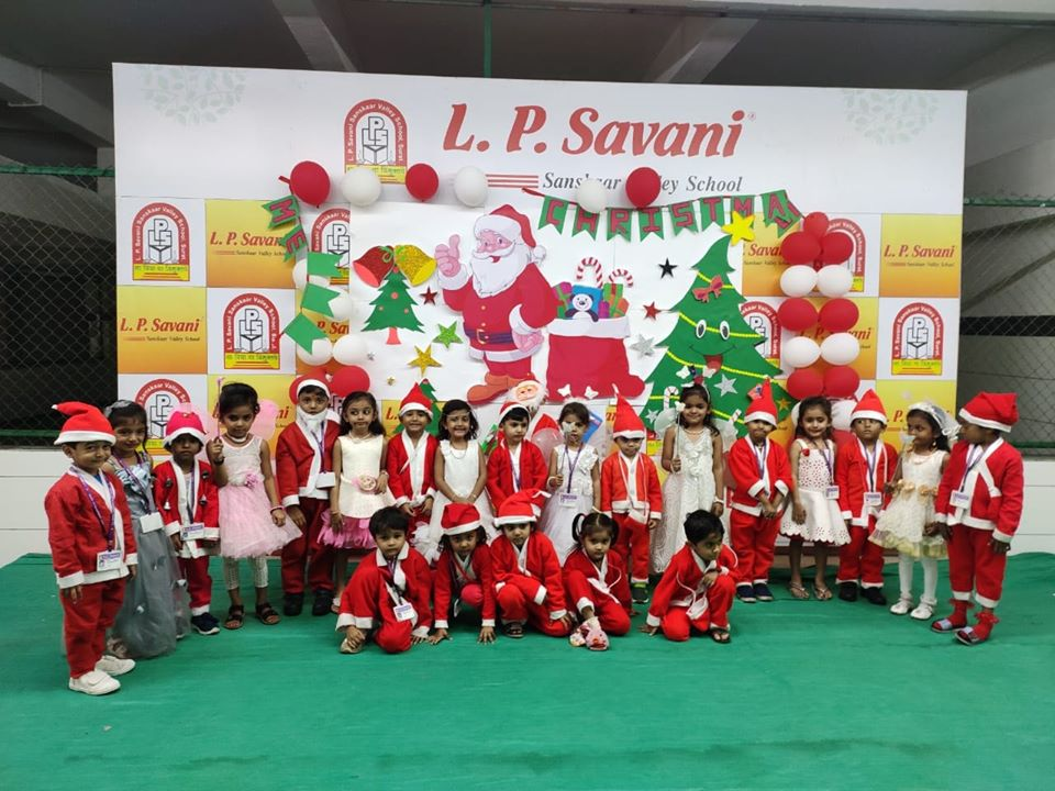 Christmas Day Celebration in Pre-Primary