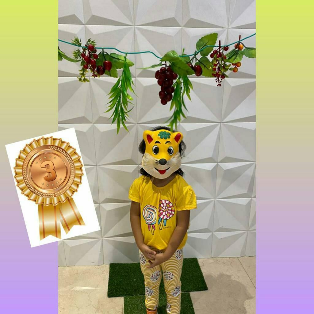 Virtual Story Telling Competition by Jr.Kg & Sr.Kg Students